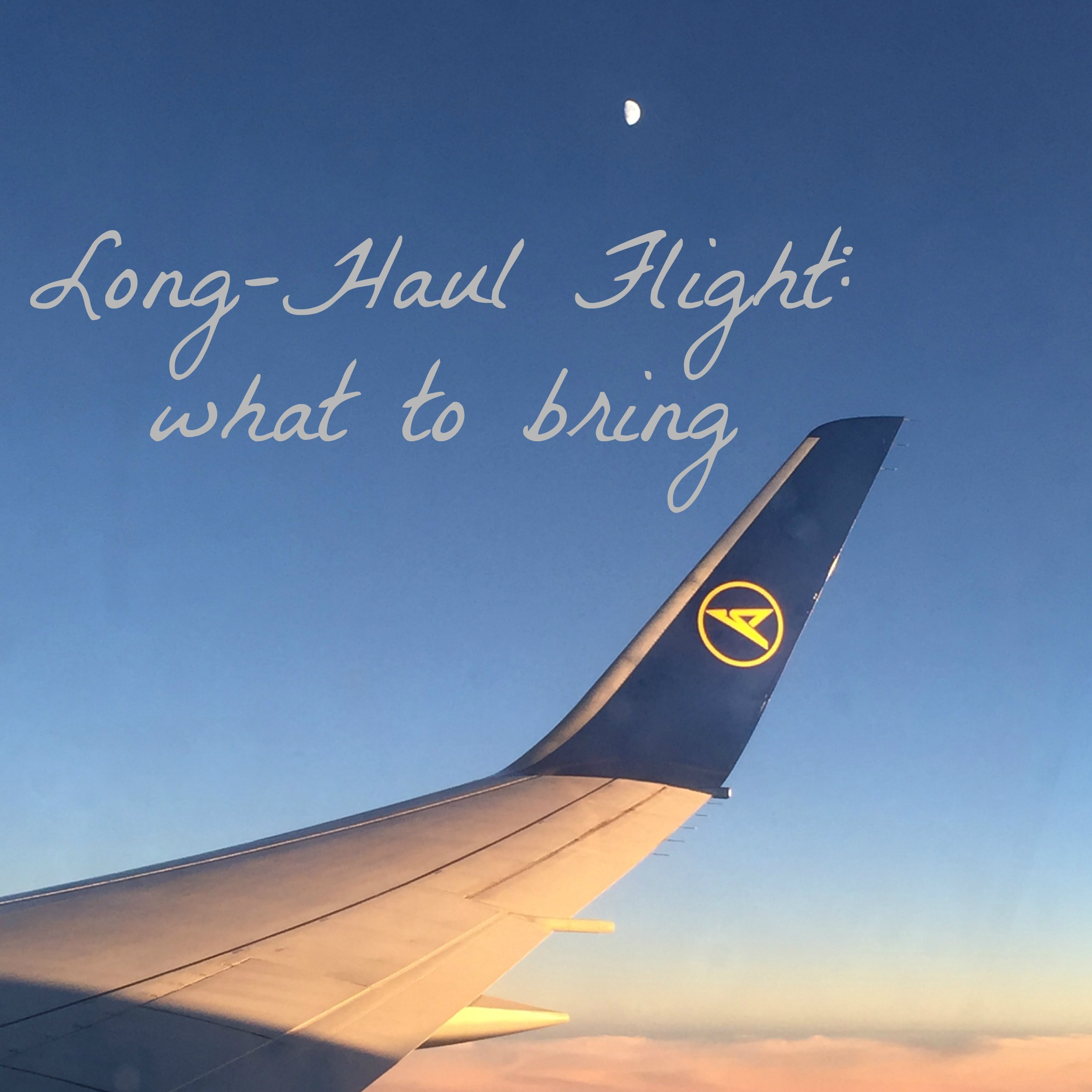 Long-Haul Flight – What to Bring